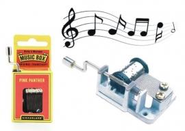 Hrací skřínka - stroje s melodií filmu Růžový panter