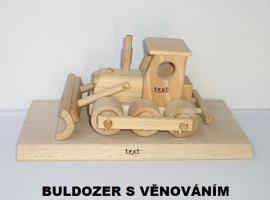 Buldozer hračky darky pro řidiče
