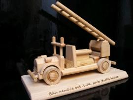 Požární automobil dárek hračka pro hasiče