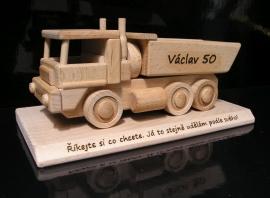 Hračka dárek nákladní auta
