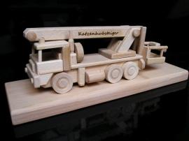 Montážní auto plošina, vysokozdvižná, dárek, hračk