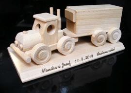 Kamion dárek pro řidiče