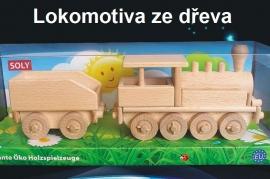 Hračky lokomotiva