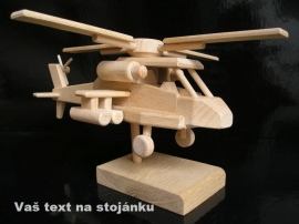Vojenský vrtulník dárek