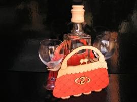 Dárek dámská kabelka | dárkový koš