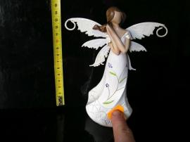 Anděl s křídly motýla, soška dekorace