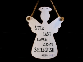 Anděl dekorace na zavěšení dárek