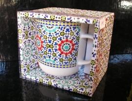 Hrníček hrnek keramický se vzorem dárek