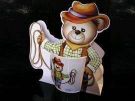 Dětský hrnek, hrníček medvěd, medvídek