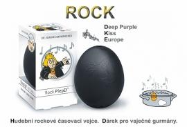 Vařiče vajec s Rock melodiemi
