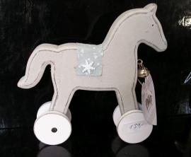 Dřevěný kůň, koníček, dekorace do bytu