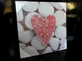 Reprodukce obraz srdce, dekorace do bytu
