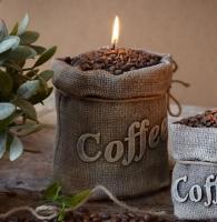 Svíčka velká káva | kafé | kafíčko | zrnková káva