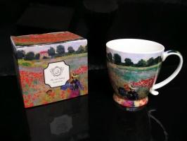 Dárkový hrnek, hrníček 0,4 l. malíř Claude Monet