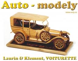 Laurin & Klement, VOITURETTE, model ze dřeva