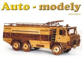 TATRA 815, požární vozidlo ze dřeva