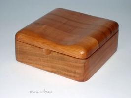 Krabičky na šperky tmavší dřevo česká výroba