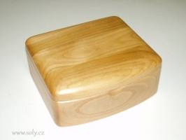 Dřevěné šperkovnice, světlé dřevo české výroby