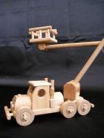 Zvedací plošina menší - dřevěné hračky