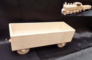 Připojný vagon k lokomotivě DR