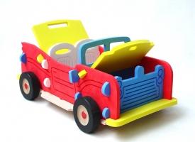 Obrovské auto kabriolet -  stavebnice hračka
