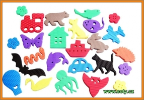 Pěnové zvířátka, hračky pro děti CZ výroby