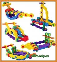 Loď dětská stavebnice z pěny, hračka