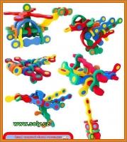 Vrtulník, pěnová stavebnice pro děti, hračka