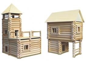 Stavebnice ze dřeva pro 17 různých budov