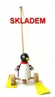 Tahací hračky na tyči kacenka zajíc tučňák