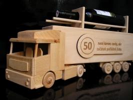 Dárek k 50 narozeninám kamion