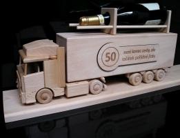 Láhev kamion