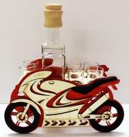 Dárek pro motorkáře| láhev | sportovní motorka