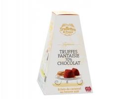 Truffles  čoko bonbony 70% s karamely a soleným máslem