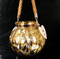 Zlatá lucerna, lampa, dekorační nádoba Hallowen