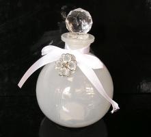 Skleněná funkční dóza na parfém, bytové dekorace