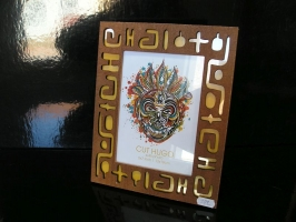 Fotorám 13X18 cm dřevěný INDIÁN dekorace