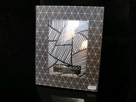 Pro foto 13x18 cm fotorám dřevěný šedý černý dekor