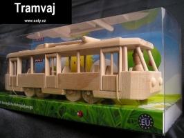 Moderní  tramvaj TATRA