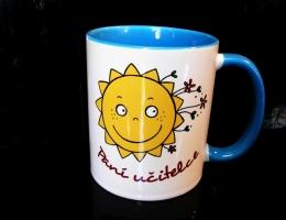 Hrnek sluníčko, dárek pro paní učitelku