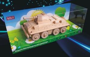 Obrněný transportér PUMA, dřevěná hračka