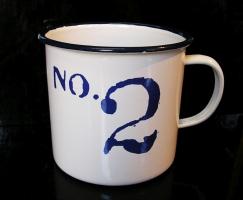 Plechový hrnek 0,4 l No.2, na čaj kávu