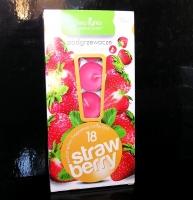18 ks Čajová vonné svíčka vůně jahody