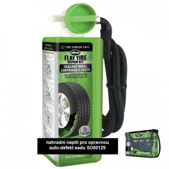 Náhradní náplň pro opravnou defekt sadu Slime Flat Tyre Repair Kit 450ml