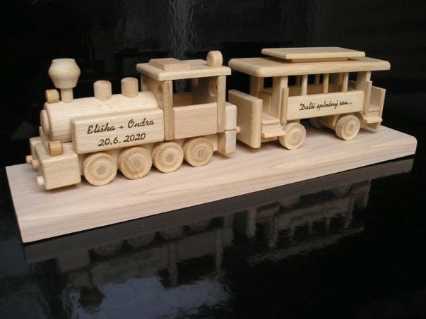 Dárek vlak, lokomotiva, vláček | dárky pro nádražáky