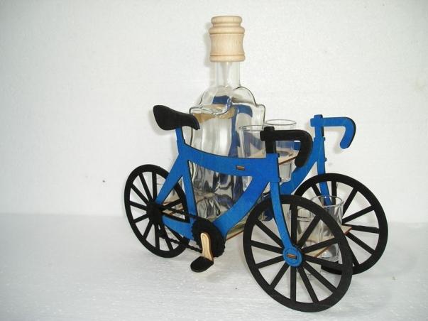 Dárky pro cyklisty | láhev a 6x sklenička
