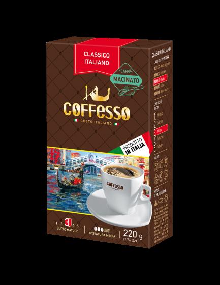 Italská káva Coffesso Classico