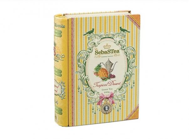 Zelený sypaný čaj s příchutí Sebastea Tropical Dessert
