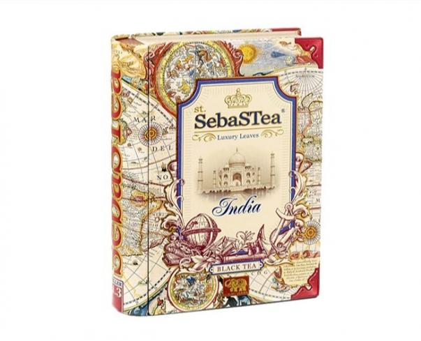 Černý čaj sypaný s příchutí Sebastea England