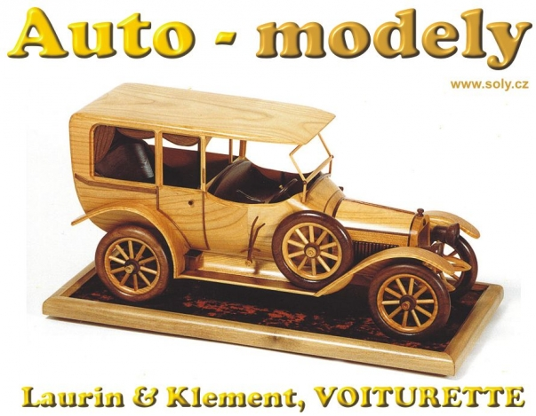 Laurin & Klement, VOITURETTE, model ze dřeva